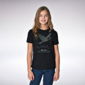 SB-LII Champions • Eagle Made of Words • Youth Short Sleeve T-Shirt