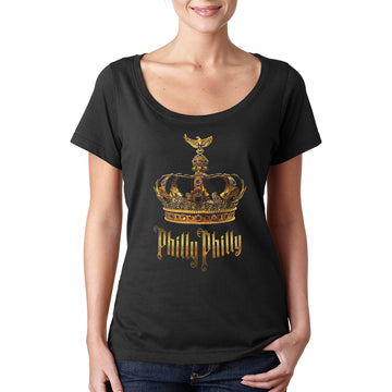 Philly Philly •  Women's Sheer Scoopneck T-shirt