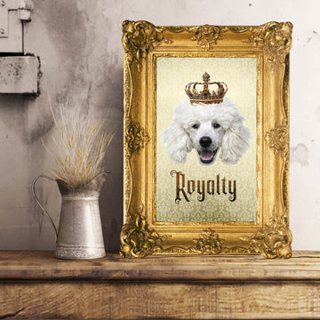 Poodle Royalty • Unframed Poster