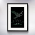 SB-LII Champions • Eagle Made of Words • Poster (Unframed)