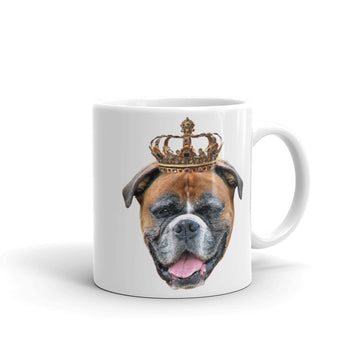 Boxer Royalty Mug