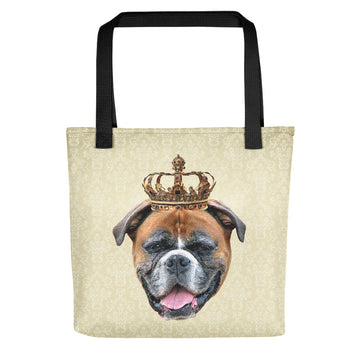 Boxer Royalty Tote Bag