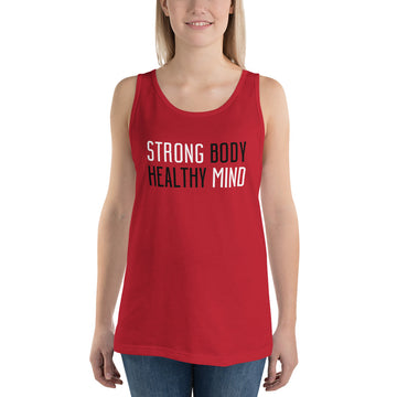 STRONG & HEALTHY • Unisex Tank Top
