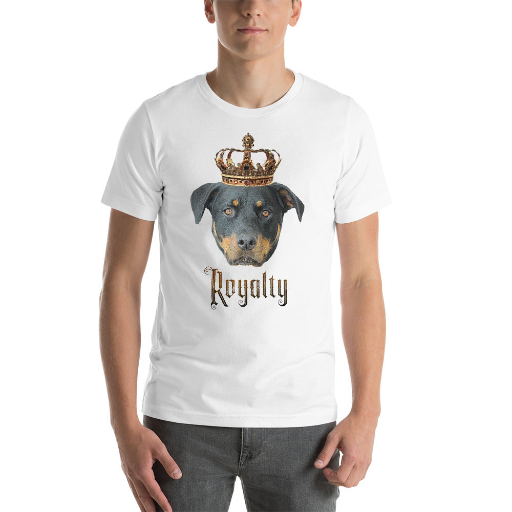 Rottweiler Royalty • Customizable, Premium, Short-Sleeve, Unisex T-Shirt