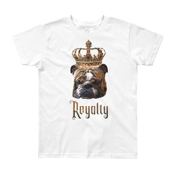 English Bulldog Royalty • Youth T-Shirt