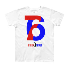 76 Philly Trust • Youth Short Sleeve T-Shirt