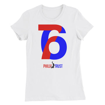 76 Philly Trust • Women's Short Sleeve, Slim-Fit T-Shirt