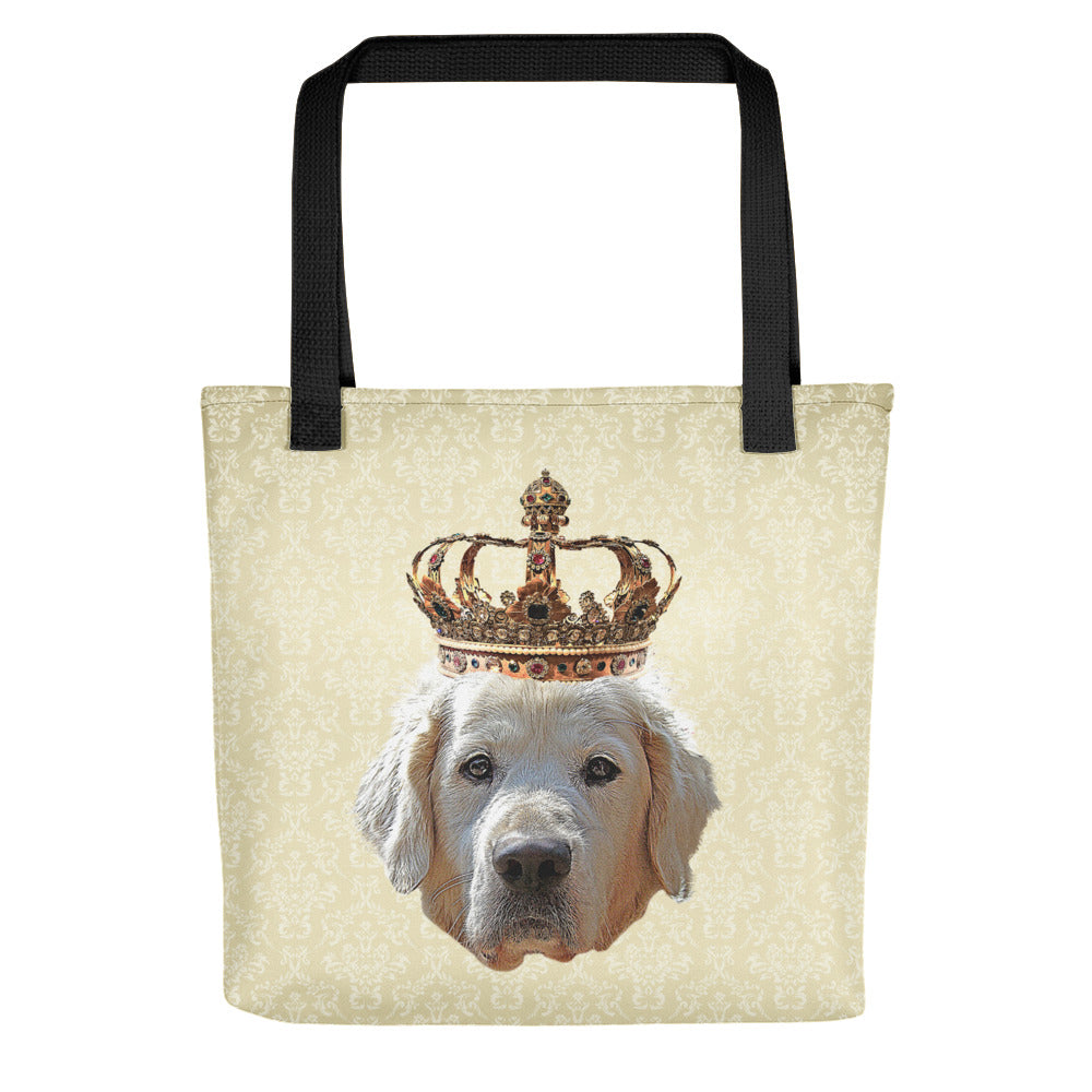 Golden Retriever Royalty Tote Bag