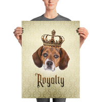 Beagle Royalty • Unframed Poster