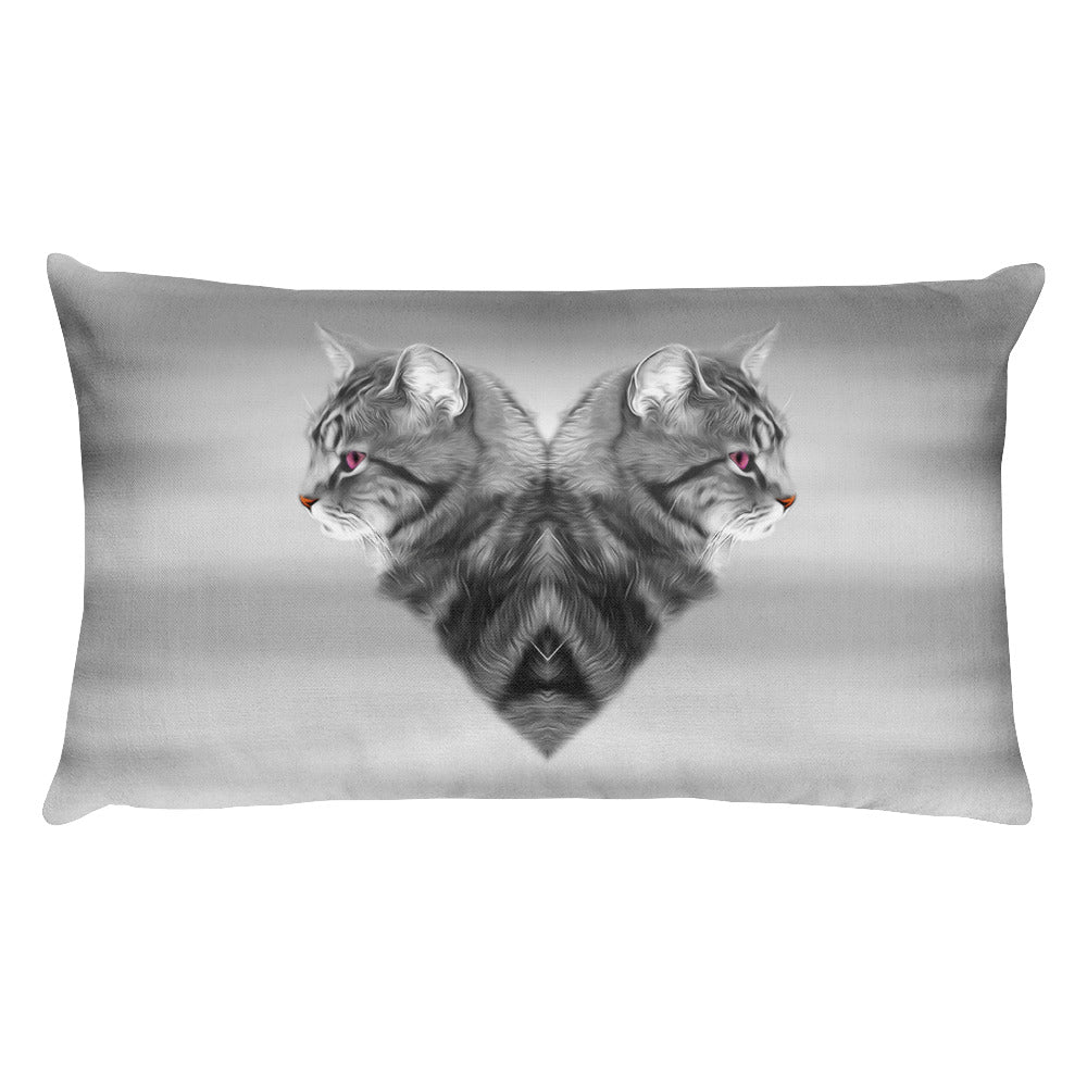 CAT LOVE • Rectangular Pillow