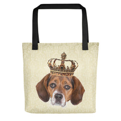Beagle Royalty Tote Bag