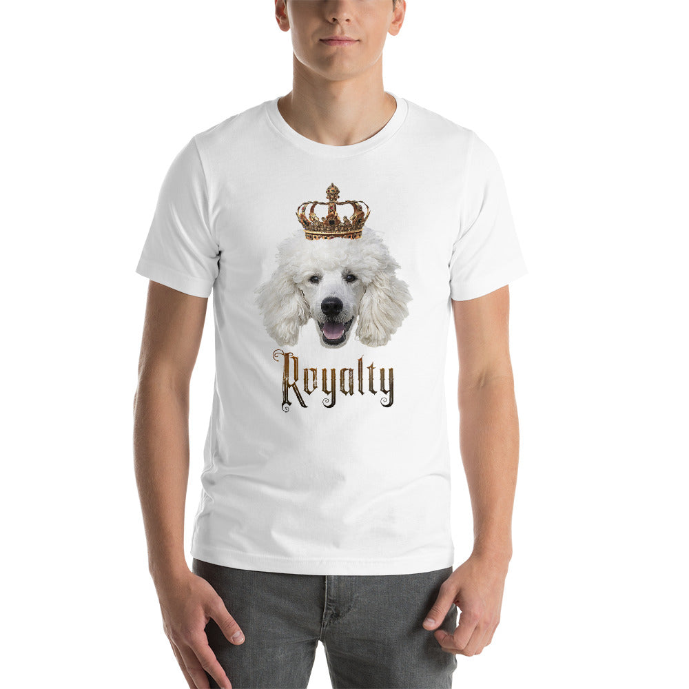 Poodle Royalty • Customizable, Premium, Short-Sleeve, Unisex T-Shirt