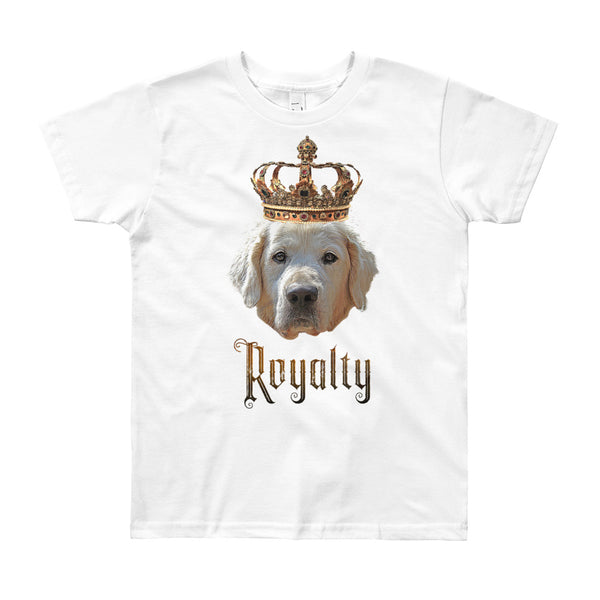 Golden Retriever Royalty • Youth T-Shirt