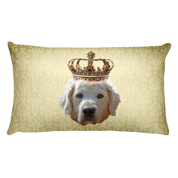 Golden Retriever • Rectangular Pillow