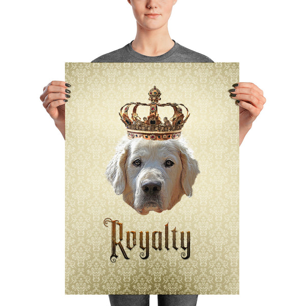 Golden Retriever Royalty • Unframed Poster