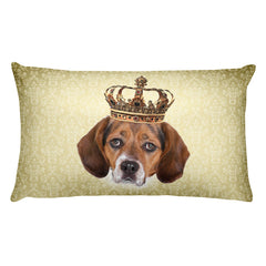 Beagle • Rectangular Pillow