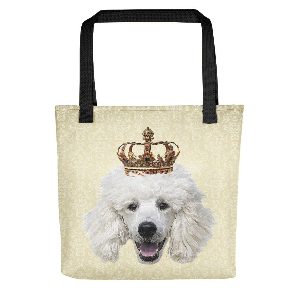Poodle Royalty Tote Bag
