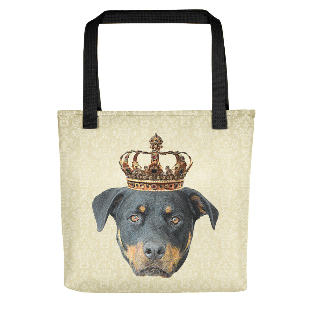 Rottweiler Royalty Tote Bag