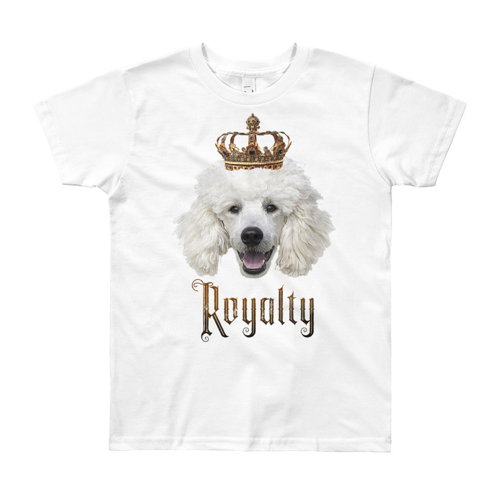 Poodle Royalty • Customizable, Youth Short Sleeve T-Shirt