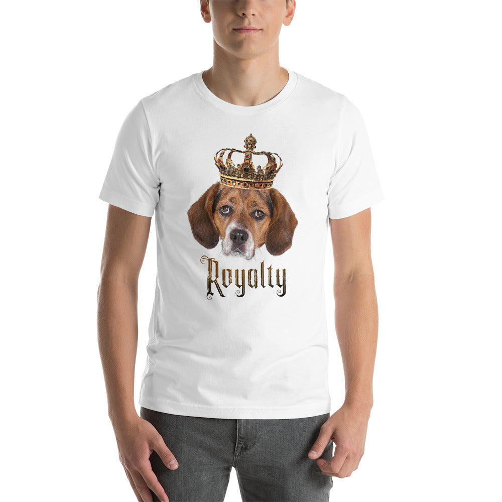 Beagle Royalty • Customizable, Premium, Short-Sleeve, Unisex T-Shirt