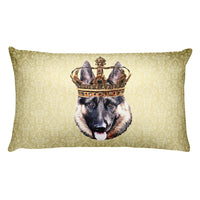 German Shepherd • Rectangular Pillow