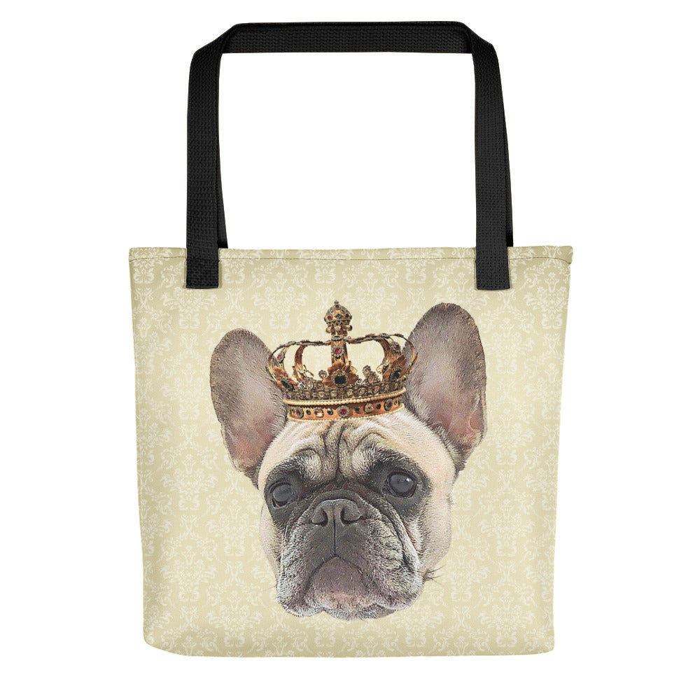 French Bulldog Royalty Tote Bag