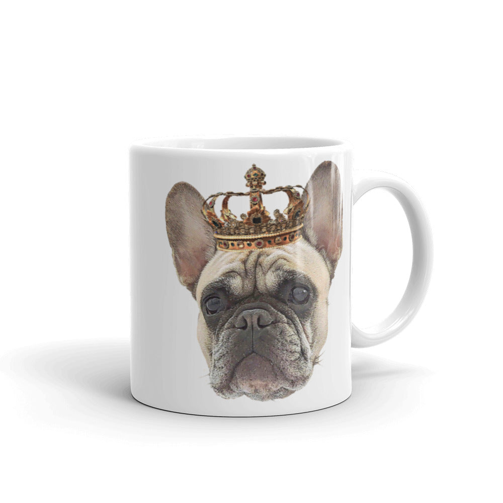 French Bulldog Royalty Mug
