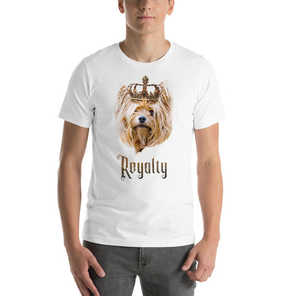 Yorkshire Terrier Royalty • Premium Unisex T-Shirt