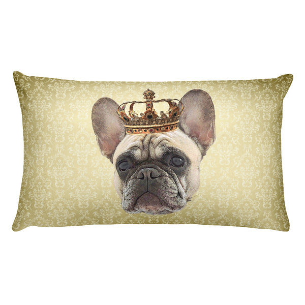 French Bulldog • Rectangular Pillow