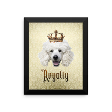 Poodle Royalty • Framed Poster