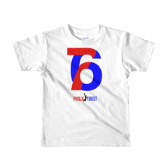 76 Philly Trust • Kids Short Sleeve T-shirt