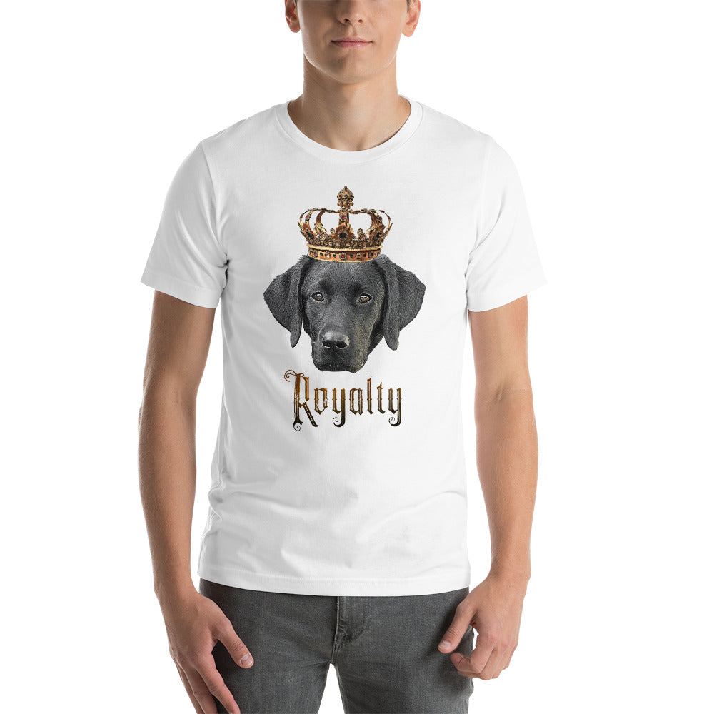 Labrador Retriever Royalty • Customizable, Premium, Short-Sleeve, Unisex T-Shirt
