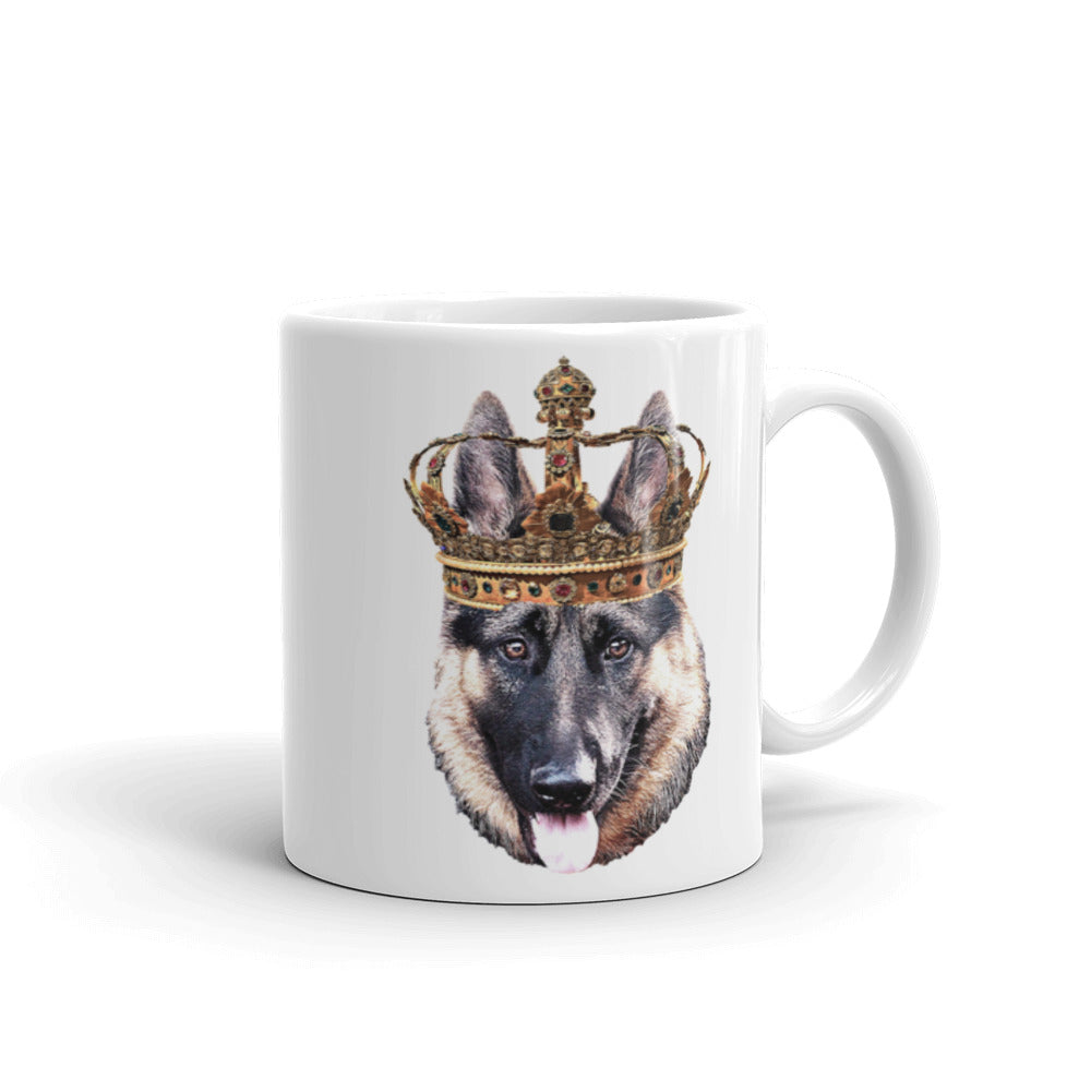 German Shepherd Royalty Mug