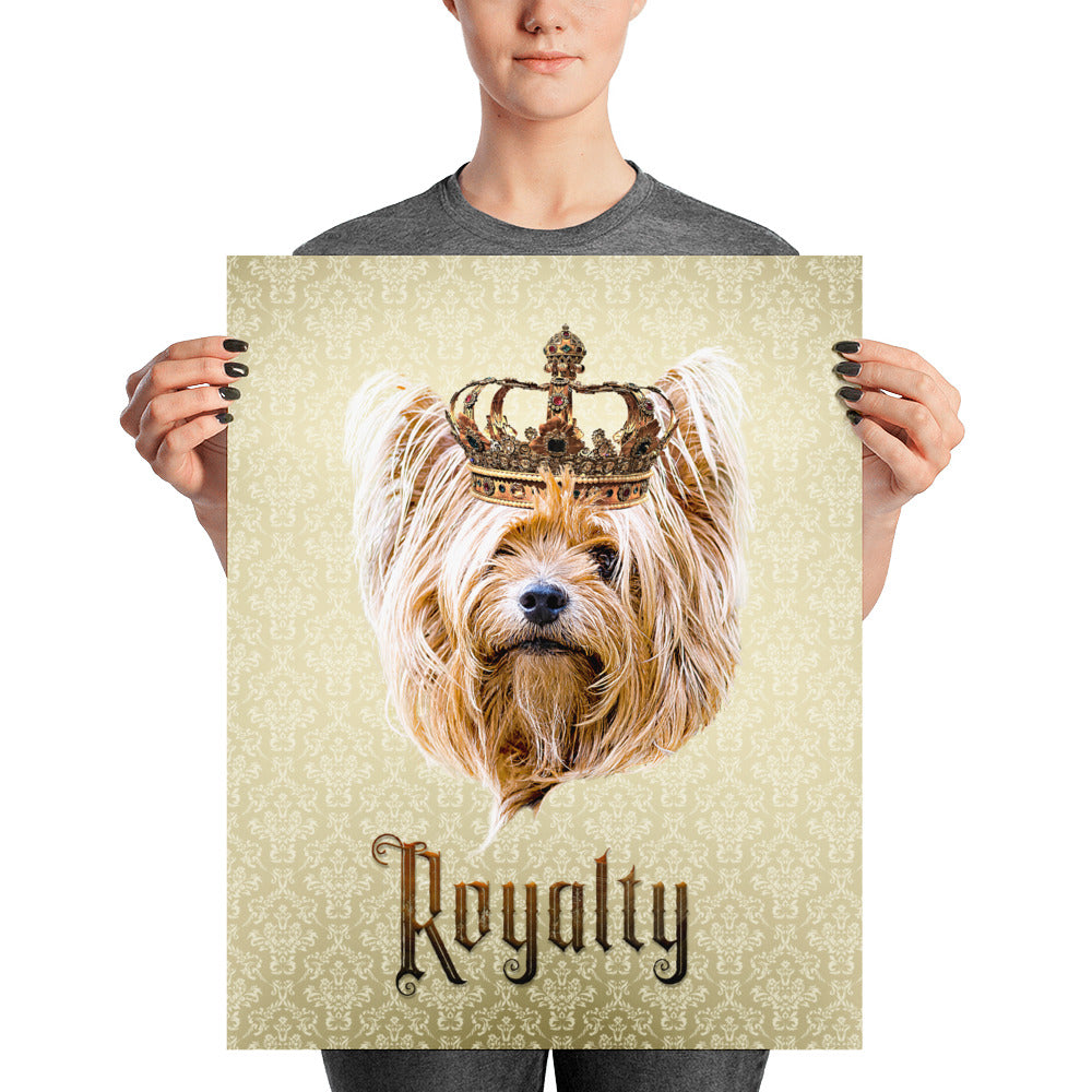 Yorkshire Royalty Unframed, Customizable Poster