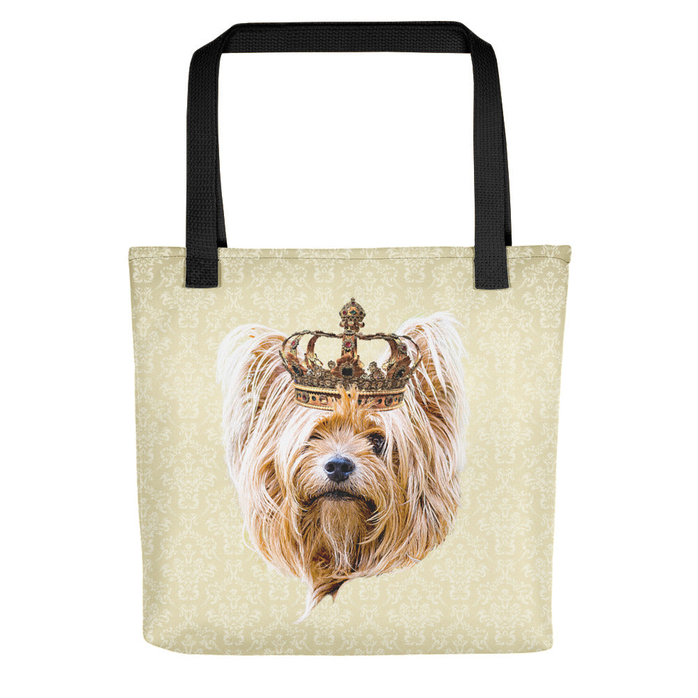Yorkshire Terrier Royalty Tote Bag