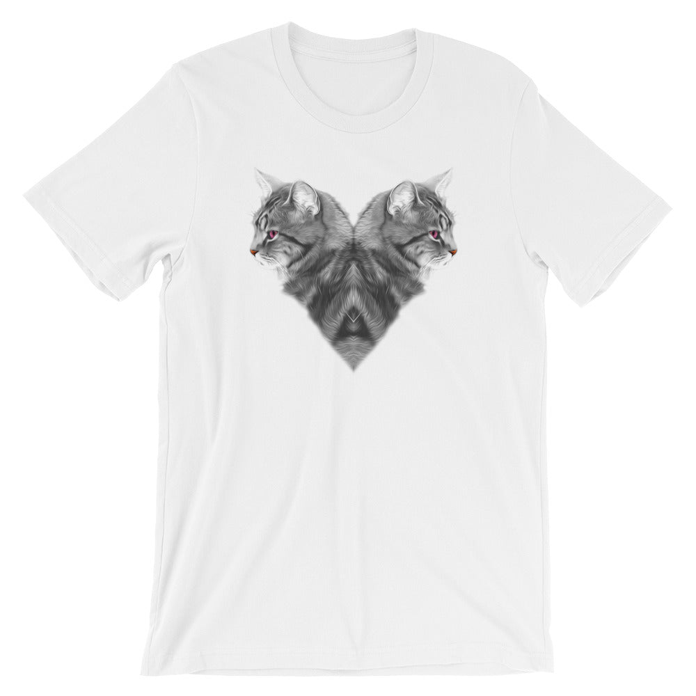 CAT LOVE • Short-Sleeve Unisex T-Shirt