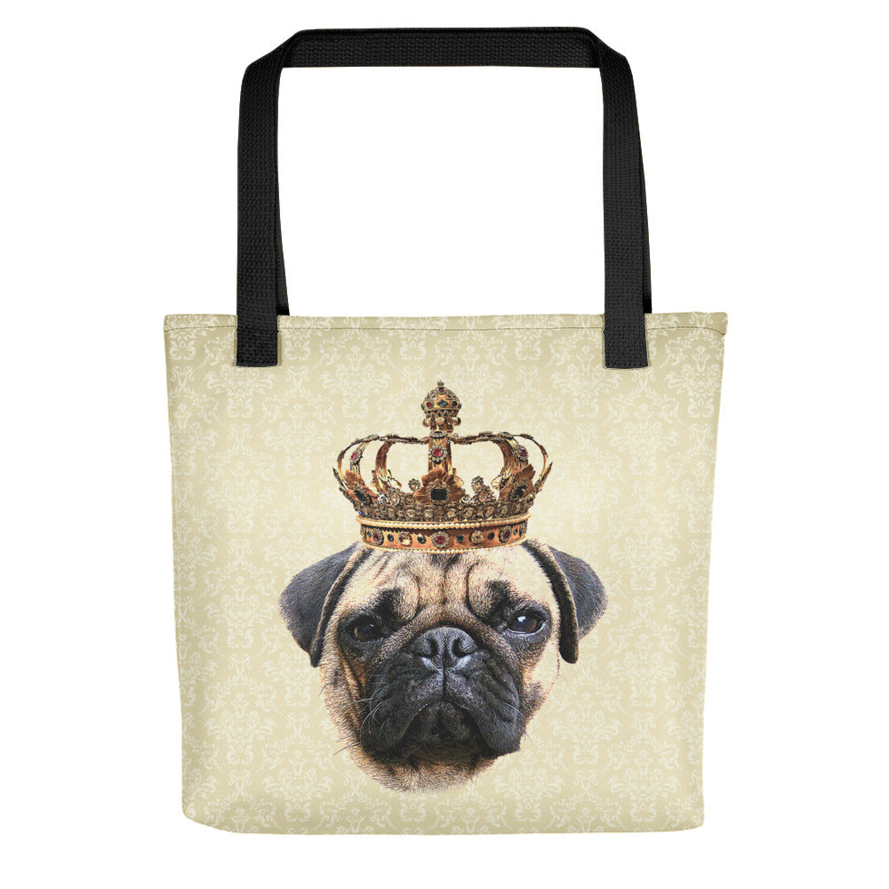 Pug Royalty Tote Bag