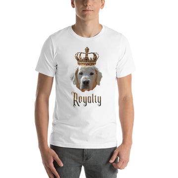 Golden Retriever Royalty • Premium Unisex T-Shirt