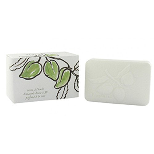 Fragonard Olive Oil Perfumed Soap - Sweet Almond with Rose 300 g-Fragonard Parfumeur-Oak Manor Fragrances