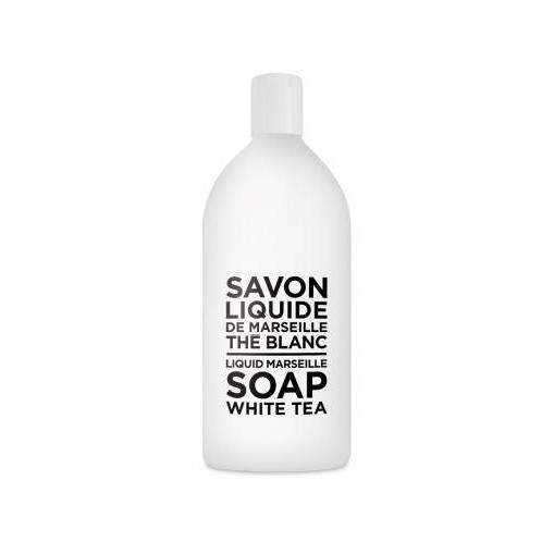 Compagnie de Provence White Tea Liquid Soap Refill-Compagnie de Provence Savon de Marseille-Oak Manor Fragrances