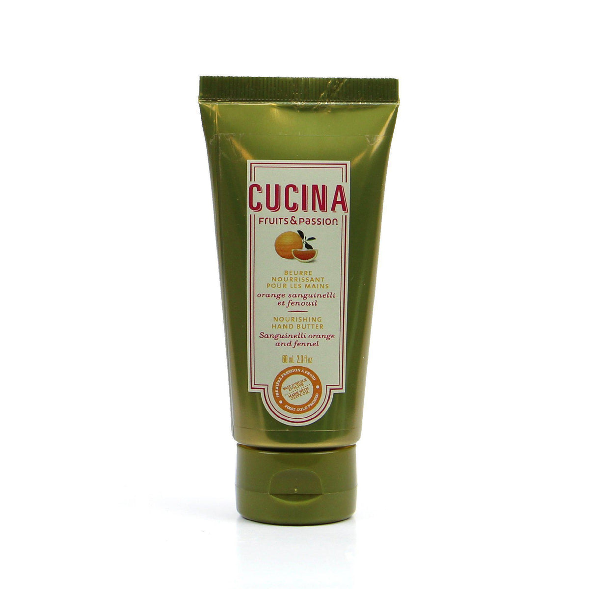 Fruits and Passion Cucina Sanguinelli Orange and Fennel Hand Butter 60 ml-Fruits and Passion Cucina-Oak Manor Fragrances