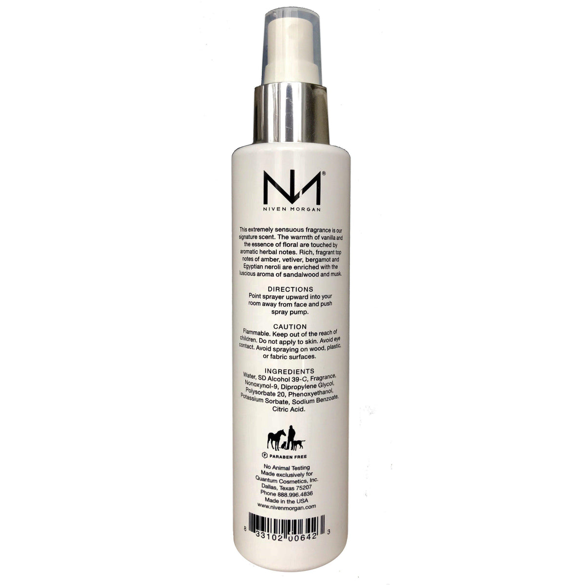 Niven Morgan Gold Home Room Spray-Niven Morgan-Oak Manor Fragrances