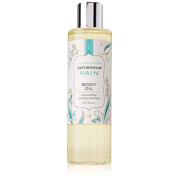 Terranova Rain Body Oil With Rejuvenating Evening Primrose-TerraNova Products-Oak Manor Fragrances