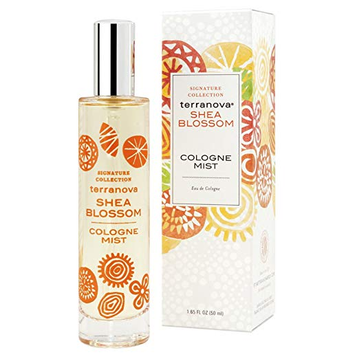 Terranova Shea Blossom Cologne Mist-TerraNova Products-Oak Manor Fragrances