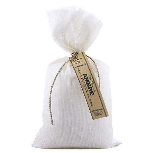 Cote Bastide Amber Bath Salt Bag-Cote Bastide-Oak Manor Fragrances