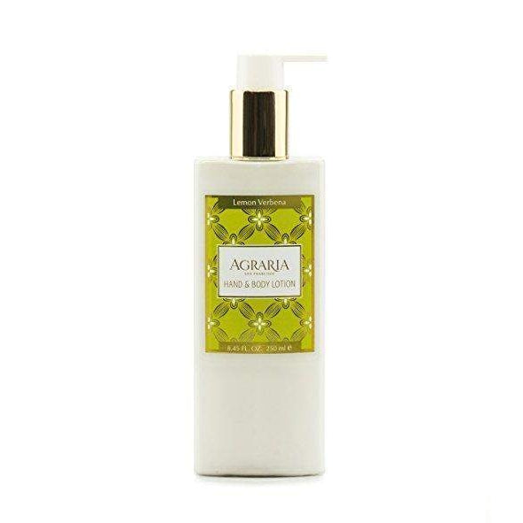 Agraria Home Lemon Verbena Hand and Body Lotion 8.45 oz-Agraria San Francisco Home-Oak Manor Fragrances