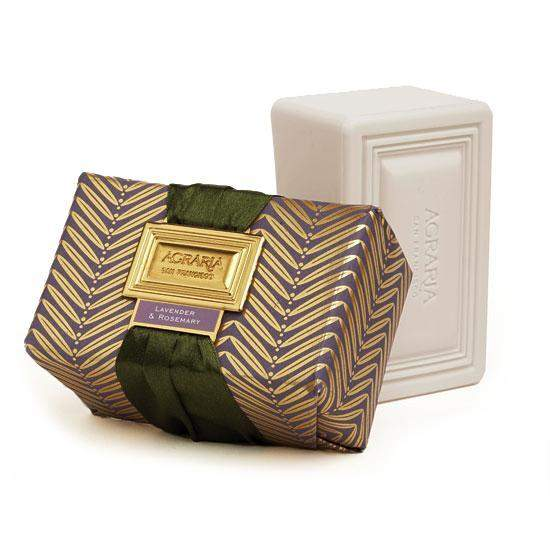 Agraria Luxury Bath Bar - Lavender and Rosemary-Agraria San Francisco Home-Oak Manor Fragrances