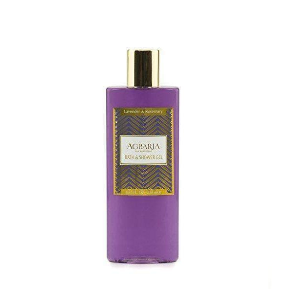 Agraria San Francisco Home Lavender and Rosemary Bath and Shower Gel 8.45 oz-Agraria San Francisco Home-Oak Manor Fragrances