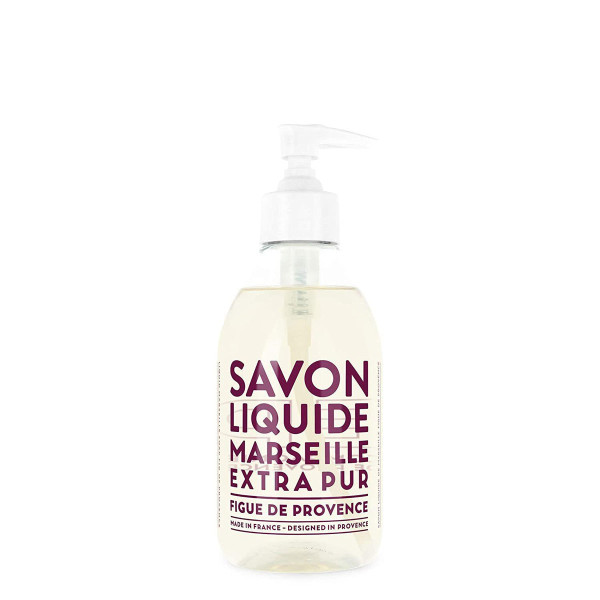 Compagnie de Provence Fig of Provence Liquid Marseille Soap 10 oz Plastic Bottle-Compagnie de Provence Savon de Marseille-Oak Manor Fragrances