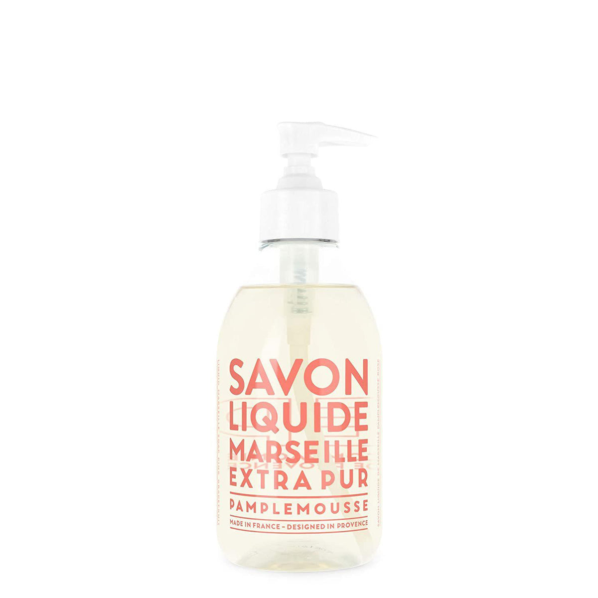 Compagnie de Provence Pink Grapefruit Liquid Marseille Soap 10 oz Plastic Bottle-Compagnie de Provence Savon de Marseille-Oak Manor Fragrances